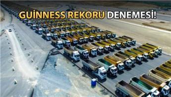 3. Havalimanı, 1453 kamyonla selam durdu!