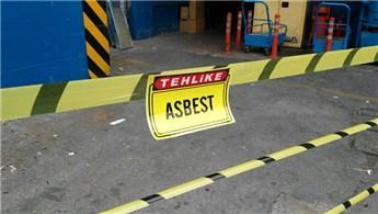 Asbestli binaların yıkımına izin yok!