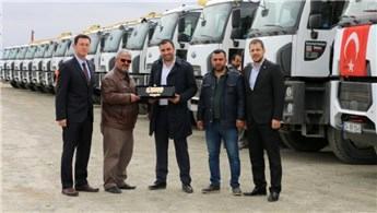 Kuranlar İnşaat, araç filosuna 12 yeni Ford Trucks ekledi