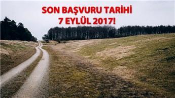 2B arazileri için başvuru süresi uzatıldı!