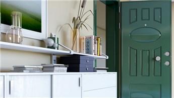 Sur Çelik Kapı'dan yeşil renkli kapılar!