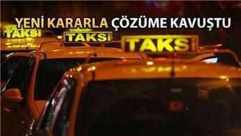 İstanbul'daki taksiciler havalimanlarından yolcu alabilecek