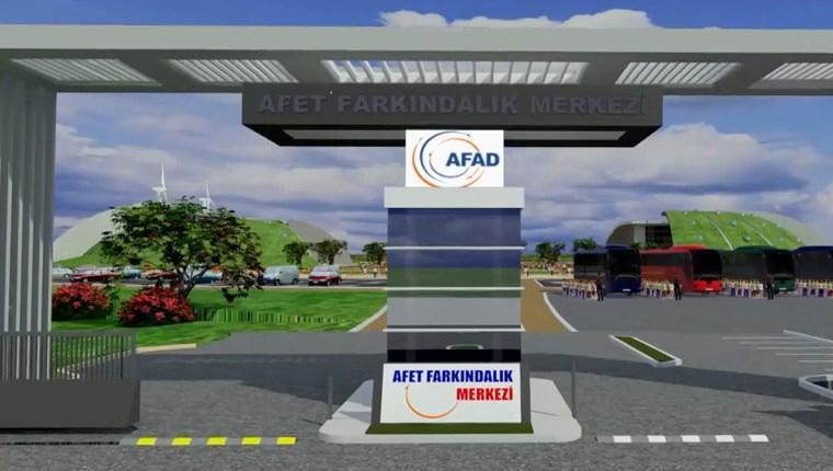 Afet Farkındalık Merkezi Ankara'da inşa edilecek