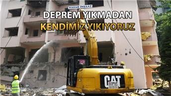 Bursa'da Nazar Sitesi'nde dönüşüm başladı