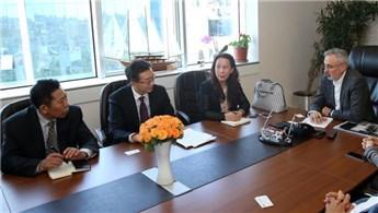 Çinli yatırımcılara Esenler Yeni Şehir projesi anlatıldı