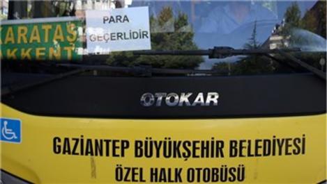 Gaziantep'te toplu taşımalar ücretsiz!