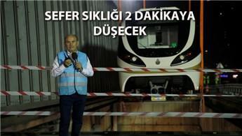 Hacıosman-Yenikapı metrosunda yeni araçlar raylarda