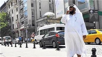 Türkiye'den en fazla alışverişi Araplar yaptı!