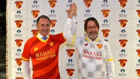 Mahall Bomonti sponsor oldu, Göztepe Süper Lig'e çıktı!