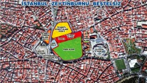 Emlak Konut Zeytinburnu Beştelsiz arsasına 8 teklif!
