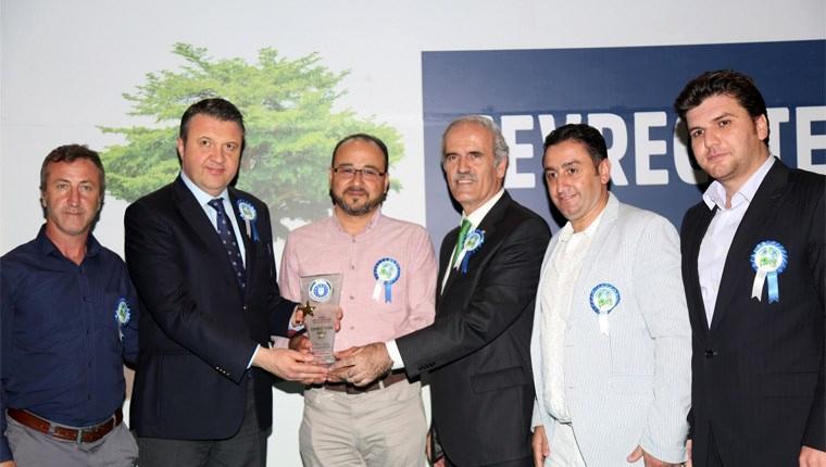 Bursa Büyükşehir Belediyesi çevreci tesislere ödül verdi