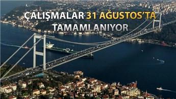 15 Temmuz Şehitler Köprüsü'nün üstyapısı yenileniyor