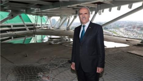 Bursa'nın timsah figürlü stadında 'kafa' imalatı tamamlanıyor