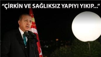 Cumhurbaşkanı Erdoğan: AKM yıkılacak