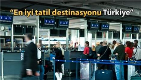 Hollandalı turist tatil destinasyonu olarak Türkiye'yi seçti!