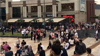 Forum İstanbul AVM'de yanlış alarm tedirginliğe yol açtı