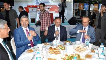 Bakan Özhaseki, Muş'taki iftar programına katıldı