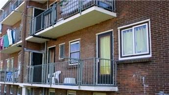 Balkonlar net alana dahil edilmeyecek!