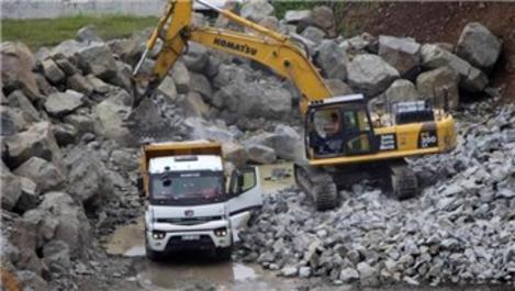 Trabzon'dan ihraç edilen taş 8 milyon dolar kazandırıyor