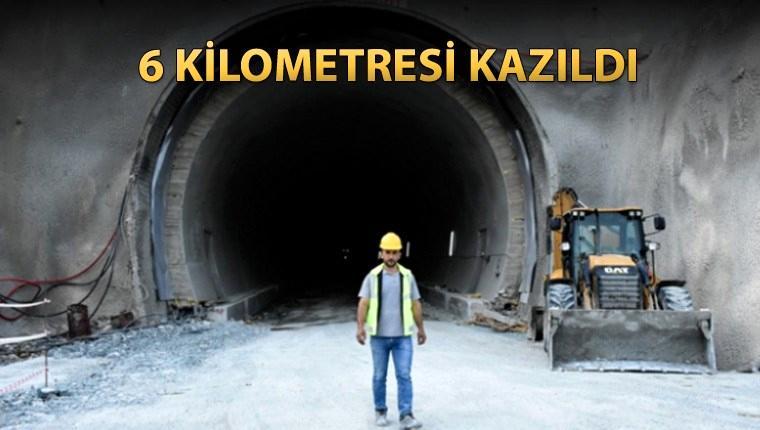 Yeni Zigana Tüneli'nde çalışmalar aralıksız sürüyor