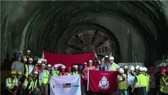 Dudullu-Bostancı metro hattında çalışmalar hızlandı