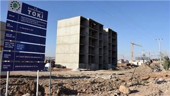 Nusaybin'deki 4 bin 600 konutun inşası sürüyor