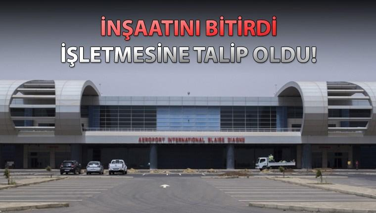 Türkler Dakar'daki havalimanı inşaatını 8 ayda bitirdi