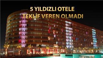 Antalya'daki Kervansaray Otel yine satılamadı