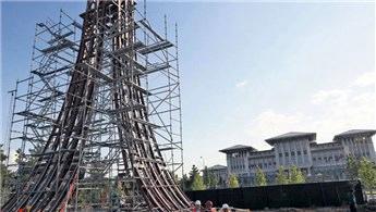 Ankara'da 15 Temmuz Şehitler Anıtı'nın yapımı sürüyor!