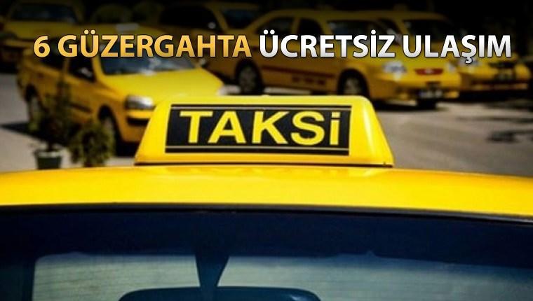 Rize'de vatandaşlara ücretsiz 'halk taksi' uygulaması