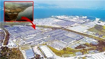 Gölcük'teki bataklık arazi Ford Otosan'ın amiral gemisi oldu!