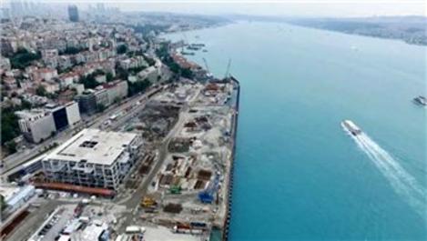 Galataport'ta yıkım işlemleri büyük ölçüde tamamlandı