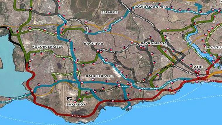İBB, metro ağını 2030'a kadar 650 km'ye uzatmayı hedefliyor