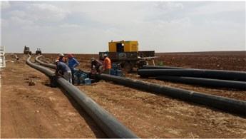Mardin Ceylanpınar'da 48 bin dekar arazi suya kavuşacak