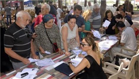 Antalya'da 300 bin dönüm arazinin mirasçıları bir araya geldi
