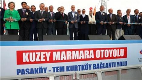 Paşaköy-TEM Kurtköy bağlantı yolunun açılışı yapıldı