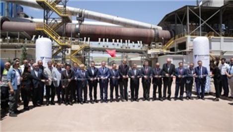 Votorantim Cimentos, yeni fabrikasını Sivas'ta açtı