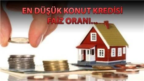 Konut kredi faiz oranları hangi bankada ne kadar?