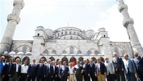 Sultanahmet Camisi'nin onarım çalışmaları başlıyor