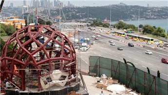 15 Temmuz Şehitler Anıtı'nın inşasında sona gelindi!