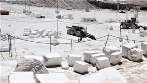 Burdur'un mermer ihracatında son yıllarda artış var