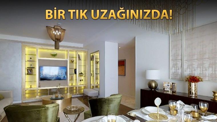 Kordon İstanbul'un örnek dairesini 3 boyutlu gezin!