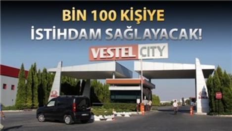 Vestel'in Manisa'daki yeni fabrikasının temeli atıldı
