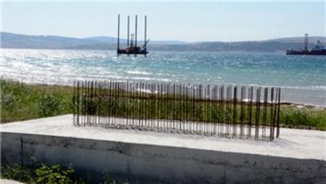 Çanakkale Köprüsü'nde sondaj çalışmaları sürüyor