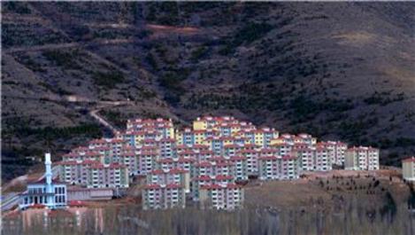 TOKİ, Kayseri Yahyalı'da 186 konut inşa edecek