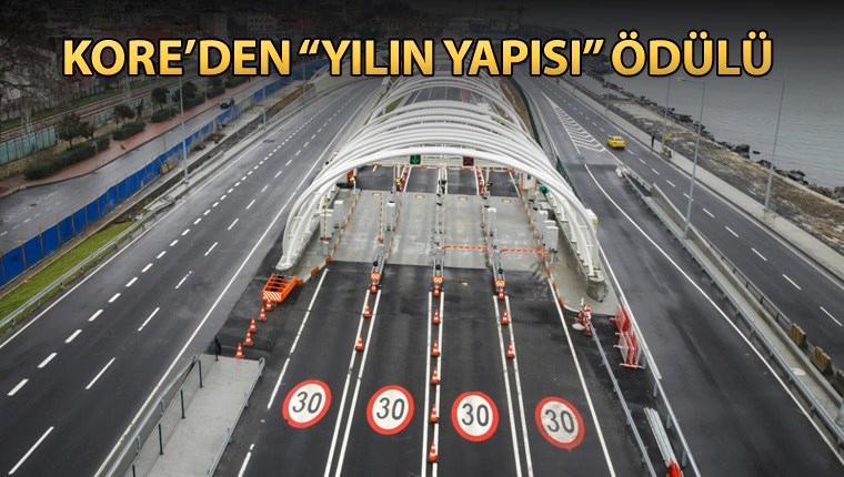 Avrasya Tüneli, 2017 yılının yapısı seçildi
