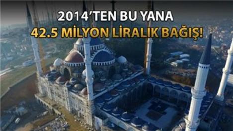 Emlak Konut'tan Çamlıca Camisi'ne 12.5 milyon lira!