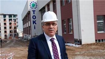 TOKİ Başkanı Turan deprem bölgelerini inceledi