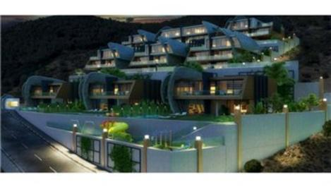 Tepe Modern Villaları Eylül 2017'de tamamlanıyor