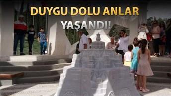 Vatandaşlardan Şehitler Anıtı'na yoğun ilgi!